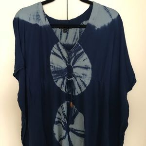 Tops - Tie-Dye Cinched Top